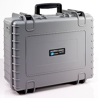 B&W Outdoor Case Typ 6000, Leer, Grau