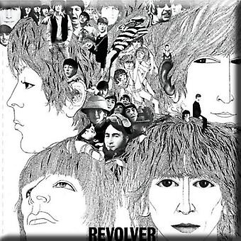 The Beatles Fridge Magnet Revolver new Official 76mm x 76mm