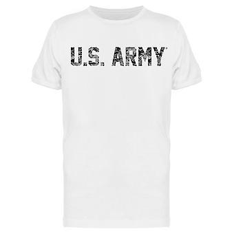 U.S Army Lettering Men's T-shirt