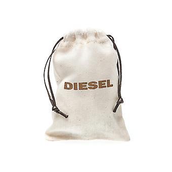 Diesel Black Gold Bracelet Bangle Clasp NEW