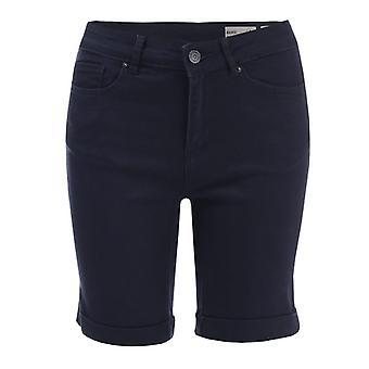 Women's Vero Moda Hot Seven Long Shorts in Blue