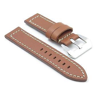 Strapsco dassari bentley thick natural leather strap