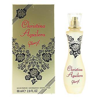 Christina Aguilera Glam X Eau de Parfum 60ml Spray For Her