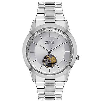 Storm 47259/S Sorena Silver Mens Automatic Watch - Silver
