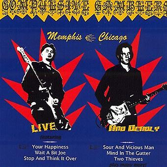 Compulsive Gamblers - Live & Deadly (Memphis/Chicago) [CD] USA import