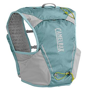 Camelbak Ultra Pro Vest Womens Ladies Running Hydration Racing Pack Blue/Silver