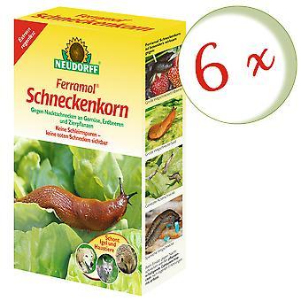 Sparset: 6 x NEWDORFF Ferramol® slakkenkorrel, 2 kg