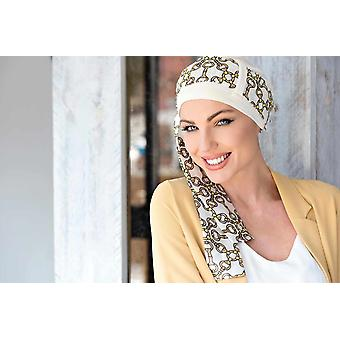Yanna Witte Gouden Ketting Sjaal