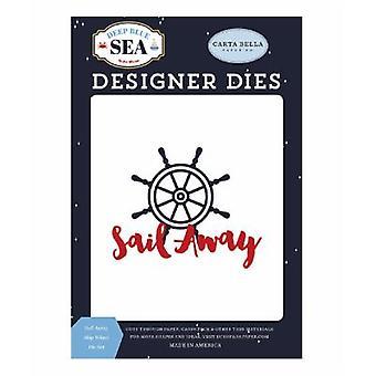 Carta Bella Sail Pois Aluksen Wheel Kuolee