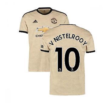 2019-2020 Man Utd Adidas Borta Fotbollströja (V NISTELROOY 10)