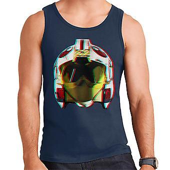 Oryginalny hełm pilota szturmowców rebeliantów 3D efekt mężczyzn kamizelka