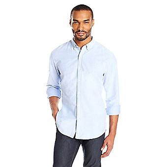 "Goodthreads Men's ""The Perfect Oxford Shirt""Standard-Fit Long-Sleeve Solid, Blau, XX-Large"