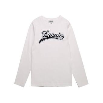 Lanvin Kids Off-White T Shirt