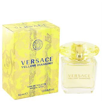 Versace Yellow Diamond Eau de Toilette Spray 30 Ml di Versace