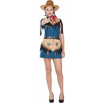 Cowgirl Kvinders Wild West Kvinders Kostume Westerngirl Kostume