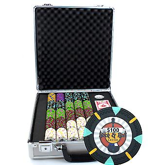 500Ct Claysmith Gaming & Rock & Roll & Chip Set in Claysmith 500Ct Claysmith Gaming & Apos;Rock & Roll&Apos; Chip Set in Claysmith 500Ct Claysmith Gaming & Roll & Roll& Chip Set in Claysmith 5