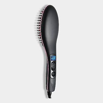 Professional Hot Comb Hair Straightener Brush - Curler Styling Tool