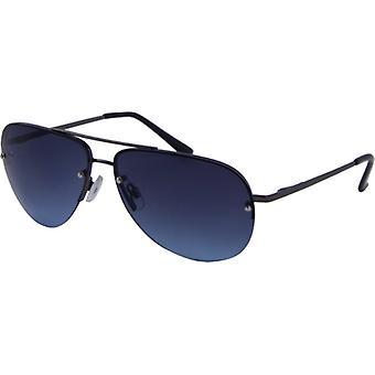 Sonnenbrille Unisex  Casual   Kat. 3 schwarz/blau (6430)