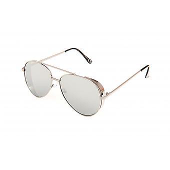 Solglasögon Unisex silver/grå (20-105)