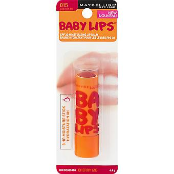 Maybelline Baby Lips Moisturizing Lip Balm, Cherry Me 015, 0.15 oz.