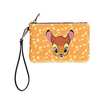 Bambi Purse Pouch portrait Print new Official Disney Brown