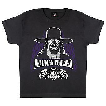 WWE der Undertaker Deadman für immer jungen T-Shirt | Offizielles Merchandise