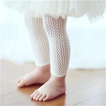 Newborn Toddler Baby Girls Cotton Knee High Socks Tights Stockings