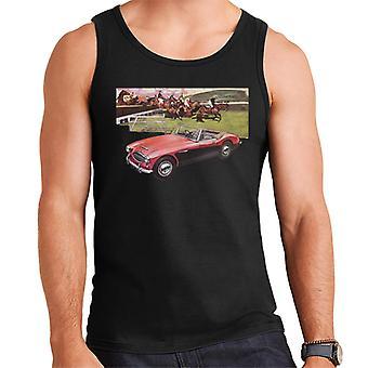 Austin Healey Urheiluhevoset hypätä British Motor Heritage Men's Vest