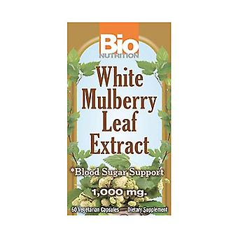 Bio Nutrition Inc White Mulberry Leaf Extract, 60 Veg Caps