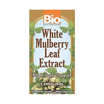 Bio Nutrition Inc Valkoinen Mulberry Lehtiuute, 60 vihannessa