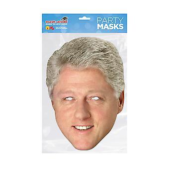Máscara-arade Bill Clinton Celebridades Partido Máscara de Cara