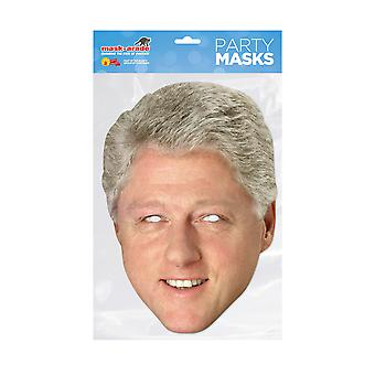 Masque-arade Bill Clinton Célébrités Party Face Mask