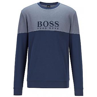Hugo Boss Leisure Wear Hugo Boss Men's Dark Blue Crew Neck Sweatshirt
