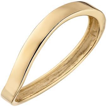 Kvinnors Ring 375 Guldgul guld Guld Ring