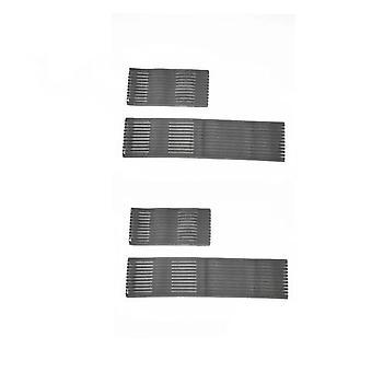 Ems ledende elektrode fast 2pcs elastiske bånd for arm tilbake skulderkroppen