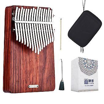 17 Keys Kalimba Mbira Thumb Pianowind Whisperer