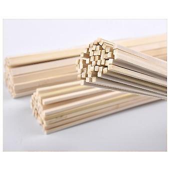 """30 ס""""מ מקל עץ מרובע ארוך עבור מלאכת יד אמנויות DIY"""