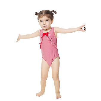 Bonverano Baby Girls UPF 50+ Sun Protection Sleeveless Sunsuit