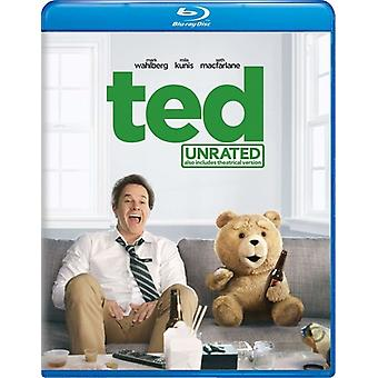 Ted [Blu-ray] USA import