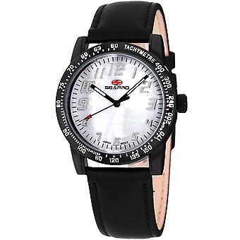 Seapro Women's Bold White MOP Dial Watch - SP5210