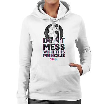 She-Ra Dont Mess With This Princess Women's Hooded Sweatshirt