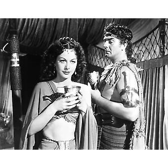 Samson And Delilah From Left Hedy Lamarr Victor Mature 1949 Photo Print