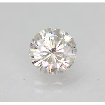 Zertifiziert 0.86 Carat E SI1 Round Brilliant Enhanced Natural Diamond 6.12mm 3EX
