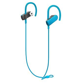 Audio-technica ath-sport50btbk sonicsport bluetooth trådløse in-ear hodetelefoner, blå