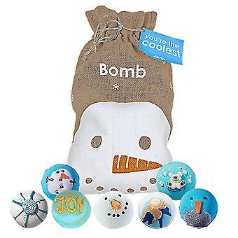 Pommi kosmetiikka sinun coolein kylpy blaster hessiläinen joulu lahjapakkaus setti