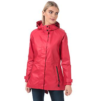 Women's Henri Lloyd Consort Rubber Coated Jacket in Red