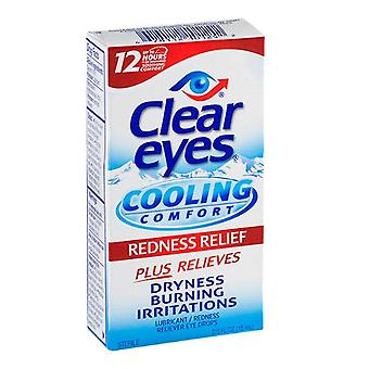 Clear eyes cooling comfort, redness relief, 0.5 oz