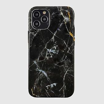 Eco Friendly Printed Marble Black iPhone 12 Pro Case