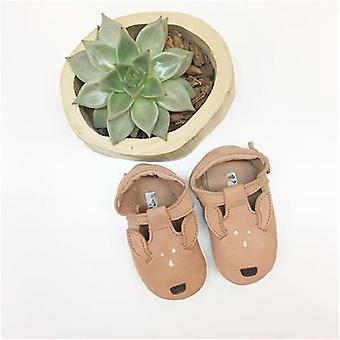 Newborn Baby Walker Shoes, Animal Genuine Leather Shoe