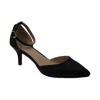 Journee Collection Womens ike Closed Toe Ankle Strap Classic Pumps